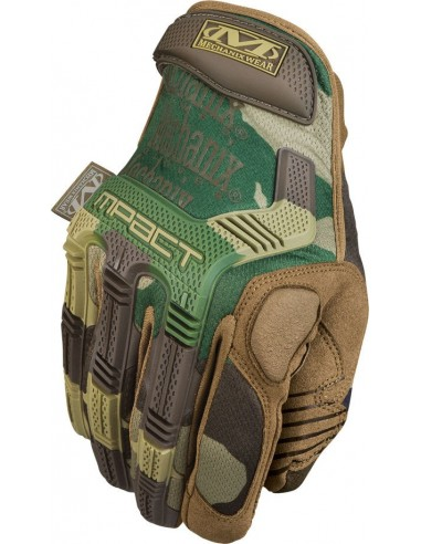 GUANTE MECHANIX M-PACT WOODLAND CAMO (M)