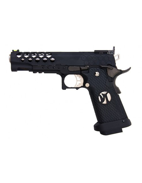 PISTOLA AW CUSTOM HX25 SERIES FULL METAL COMPETITION BLACK