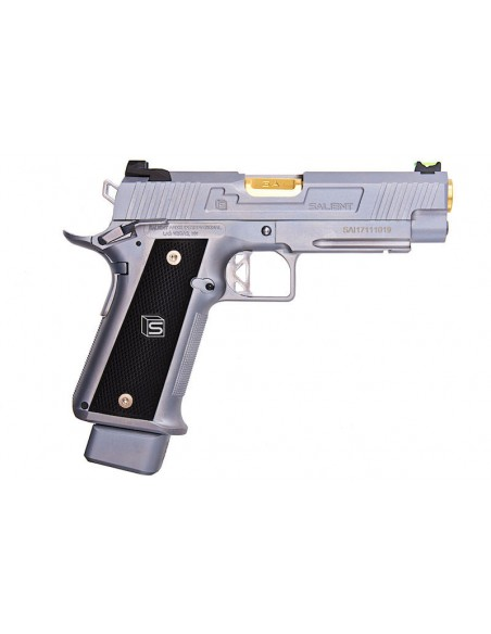 REPLICA PISTOLA GBB EMG SAI 4.3 GAS BLOWBACK - SILVER (BY AW CUSTOM)