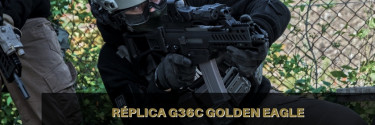 Réplicas Airsoft G36C Golden Eagle