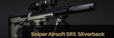 Sniper Airsoft SRS  Silverback